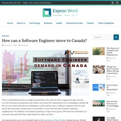 How can a Software Engineer move to Canada?