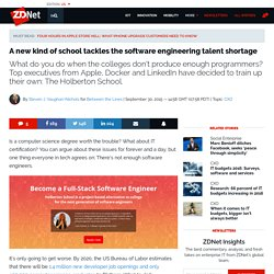 A new kind of school tackles the software engineering talent shortage