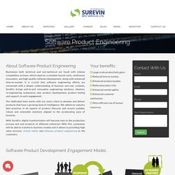 Software Product Engineering Services & Solutions
