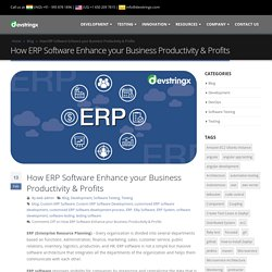 How ERP Software useful to Enhance your Business