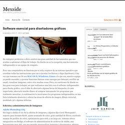 Software esencial para diseñadores gráficos
