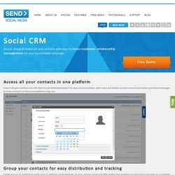 Social Media CRM Software