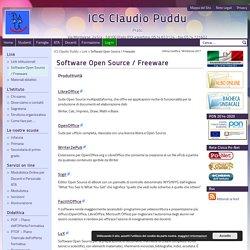 Software Open Source / Freeware - ICS Claudio Puddu