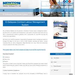 Get The Best E-Gatepass Contract Labour Management System