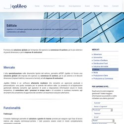 Software gestionale aziende settore cantieri ed edilizia