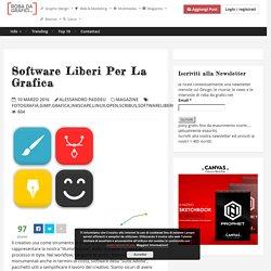 Software liberi per la grafica – Robadagrafici.net