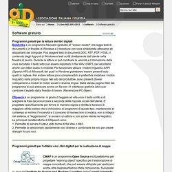 software gratuito per i libri digitali