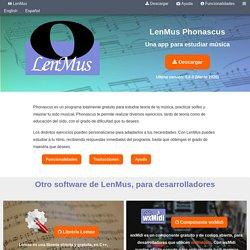 LenMus - Software gratuito para lenguaje musical