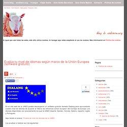 Evalúa tu nivel de idiomas según marco de la Unión Europea (software gratuito)