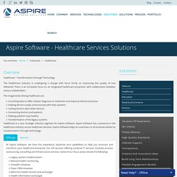 Aspire Software - Healthcare Services Solutions