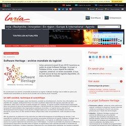 Software Heritage : archive mondiale du logiciel
