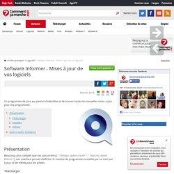 Software Informer - Mises à jour de vos logiciels