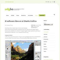 El software libre en el Diseño Gráfico