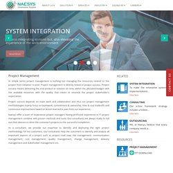 Naesys Software- Best Project Management Software Systems - Public Sector Industry
