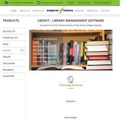 Software for Library Mangement