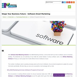 Top Software Users Email Lists