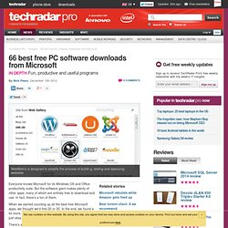 48 best free software downloads from Microsoft