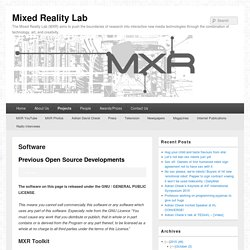 Mixed Reality Lab
