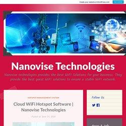 Nanovise Technologies – Nanovise Technologies