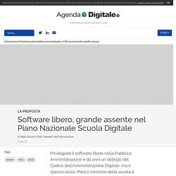 Software libero, grande assente nel Piano Nazionale Scuola Digitale