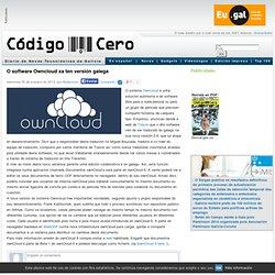 O software Owncloud xa ten versión galega