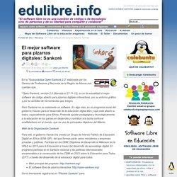 El mejor software para pizarras digitales: Sankoré - edulibre.info