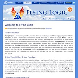 Flying Logic : Software for Visual Planning Support : About