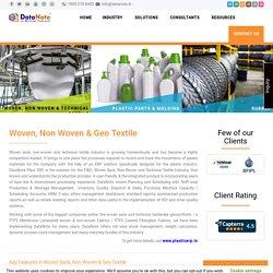ERP Software for Plastics Industry