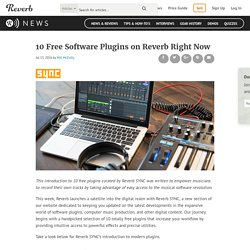 10 Free Software Plugins on Reverb Right Now