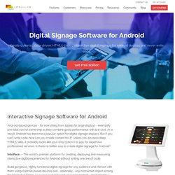 Android Based Digital Signage - IntuiLab