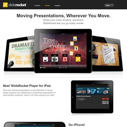 Mobile Presentation Software | Online Presentation Tools | SlideRocket