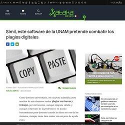 Símil, este software de la UNAM pretende combatir los plagios digitales