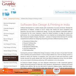 Software Box Design & Printing in India