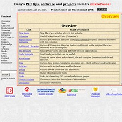 PIC mikroElektronika code