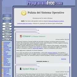 Software pulizia sistema