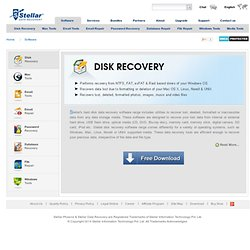 Software for Data Recovery - Windows, Mac, Linux & MS Office Data
