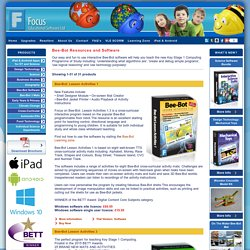 Bee-Bot Software resources by Focus Educational Software