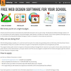 Free Web Design Software for Schools