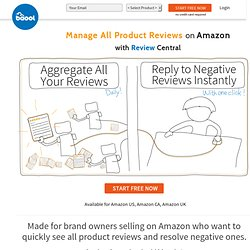Amazon Product Reviews - Improve Product Ranking