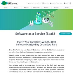 Power Your Operations With The Best Software Managed By Oman Data Park