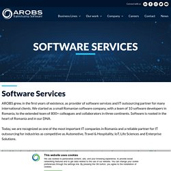 Software Services - Romanian software company