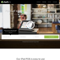 POS Software - Shopify iPad Point of Sale Software