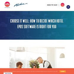 Which EPOS Software should you choose for your hotel restaurant?