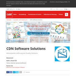CDN Software Solutions (Indore 452001) - Aussteller - CeBIT 2016
