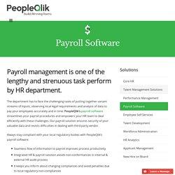 Payroll Software - Cloud Payroll Software