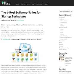 The 6 Best Software Suites for Startup Businesses