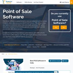 Best POS Software System in India 2021