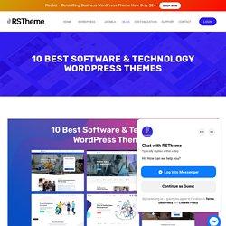 10 Best Software & Technology WordPress Themes