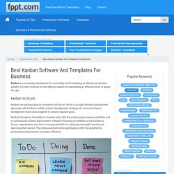 Best Kanban Software And Templates For Business