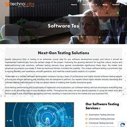 Your Software Testing Partner